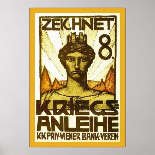 Zeichnet 8 ~ Vintage World War 1 Poster