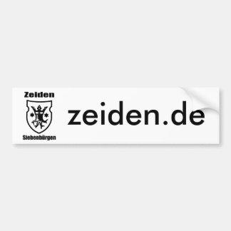 Zeiden in Transylvania Bumper Sticker