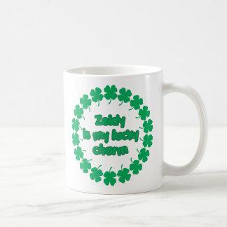 Zeidy es mi encanto afortunado taza