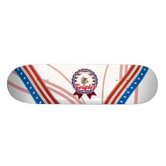 Zeigler, IL Custom Skate Board