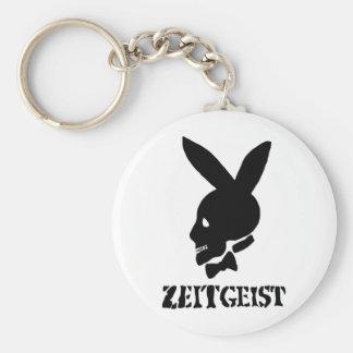 Zeitgeist Basic Round Button Keychain