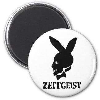 Zeitgeist 2 Inch Round Magnet