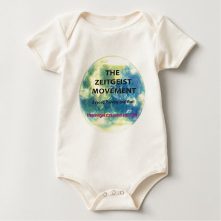 Zeitgeist Movement Baby Bodysuit