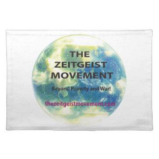 Zeitgeist Movement Cloth Place Mat