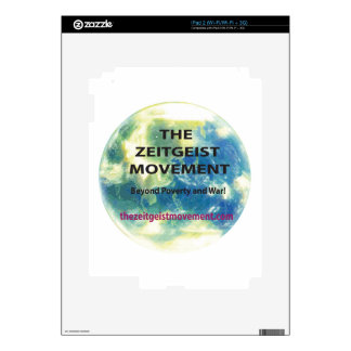 Zeitgeist Movement Decals For The iPad 2