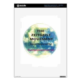 Zeitgeist Movement iPad 3 Decals