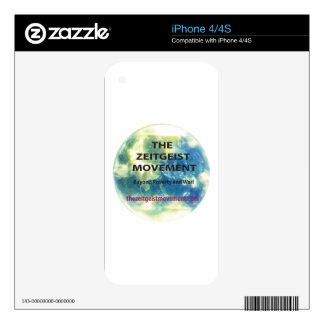 Zeitgeist Movement iPhone 4 Decals