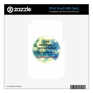 Zeitgeist Movement iPod Touch 4G Skins