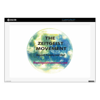 Zeitgeist Movement Laptop Skin
