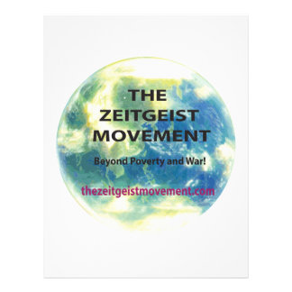 Zeitgeist Movement Letterhead