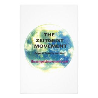 Zeitgeist Movement Stationery
