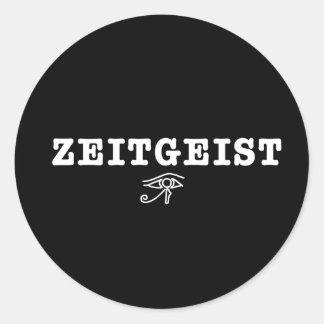 Zeitgeist Round Stickers