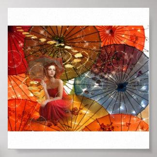 Zeitgeist - Umbrellas Poster