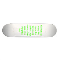 Zeke and luther's skateboard. skateboard deck