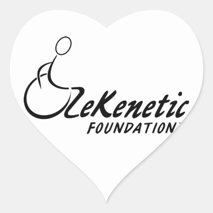 ZeKenetic Foundation Heart Sticker