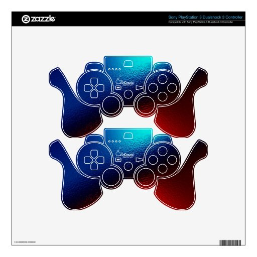 ZeKenetic Foundation PS3 controller Decal For PS3 Controller