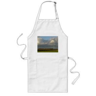 Zelanda - nubes sobre grano de oro delantal