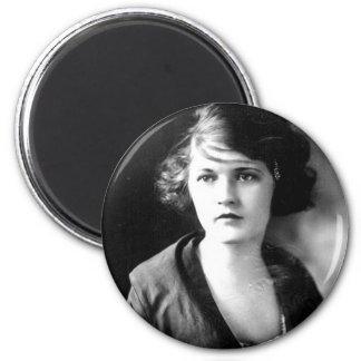 Zelda Fitzgerald, 1900-1948 2 Inch Round Magnet