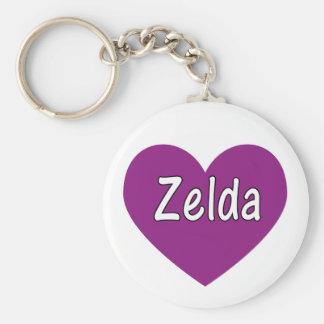 Zelda Llavero Redondo Tipo Pin