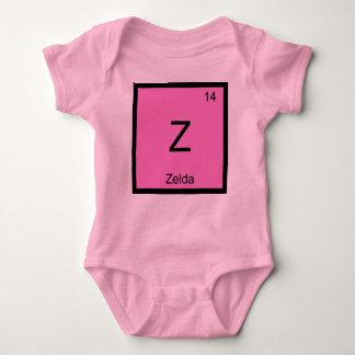 Zelda Name Chemistry Element Periodic Table Infant Creeper