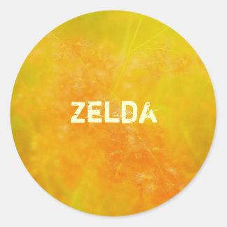 Zelda Round Sticker