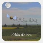 Zelda the Bee Sticker
