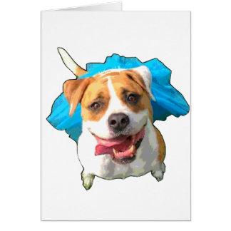 Zelda the Bulldog Card