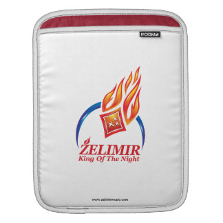 "ZELIMIR ""Fire Logo"" iPad Sleeve"