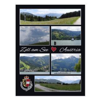 Zell am See, Austria postcard