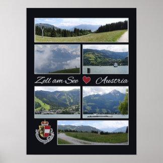 Zell am See, Austria poster