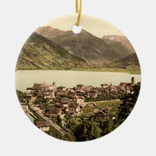 Zell am See I, Salzburg, Austria Christmas Tree Ornament