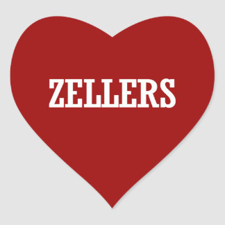 ZELLERS 2014 - Election Heart Stickers