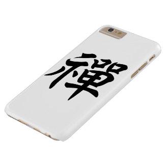 Zen [禪] - caso del iPhone Funda De iPhone 6 Plus Barely There