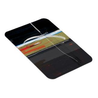 Zen:01 Rectangular Photo Magnet