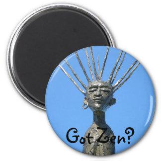 Zen 2 Inch Round Magnet