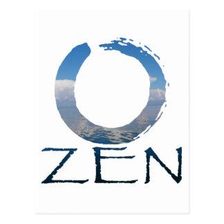 zen-2 tarjeta postal