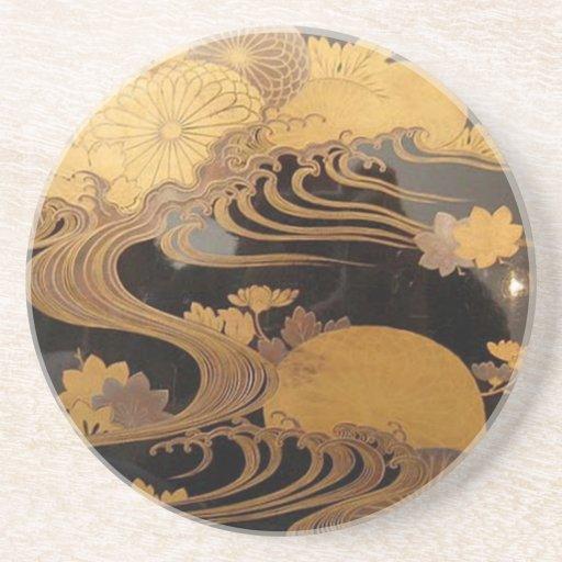 zen abstract coaster