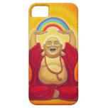 Zen afortunado que ríe el caso del iPhone 5 de Bud iPhone 5 Fundas