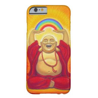 Zen afortunado que ríe el caso del iPhone 6 de Funda De iPhone 6 Barely There