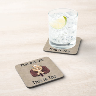 Zen and Tao Beverage Coaster