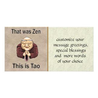 Zen and Tao Photo Card Template