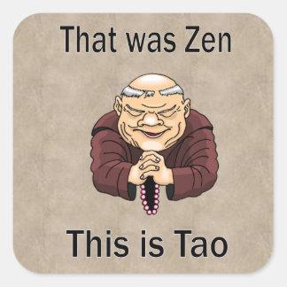 Zen and Tao Stickers