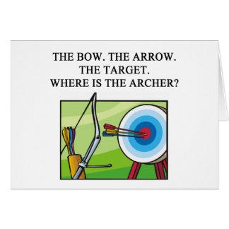 zen archery koan card