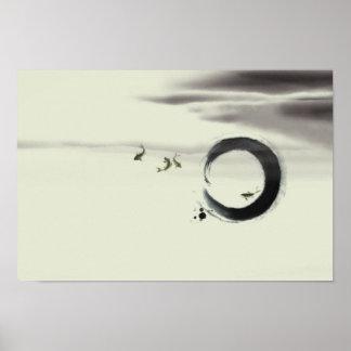 Zen Art | Energy Harmony Peace Feng-shui Posters