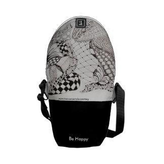 Zen_Arte purse Messenger Bag