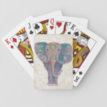 Zen Asian Elephant Playing Cards