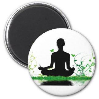 Zen attitude 2 inch round magnet