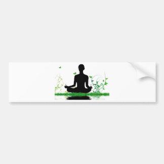Zen attitude car bumper sticker