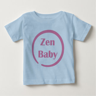 Zen Baby in Enso symbol Baby T-Shirt