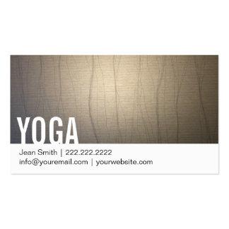 Zen Background Yoga Business Card
